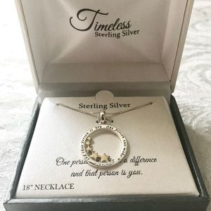 Jewelry - *NWOT* Sterling Silver Necklace